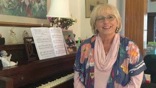 Donna Greenman at piano
